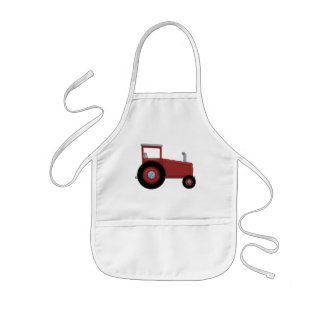 Big Red Tractor Kids Apron