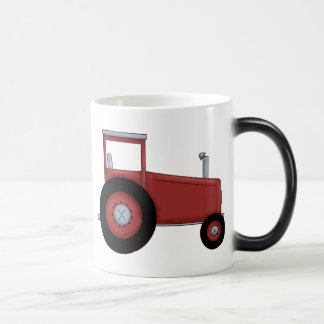 Big Red Tractor Magic Mug