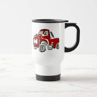 Big Red Truck Travel Mug