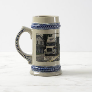 Big Rig Trucker's Lorry Design for Truck-lovers Beer Steins