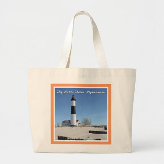 Big Sable Point Lighthouse - Large Tote Jumbo Tote Bag