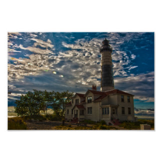 Big Sable Point Lighthouse, Michigan Poster