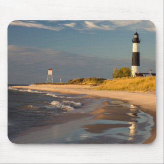 Big Sable Point Lighthouse On Lake Michigan 2 Mouse Mat