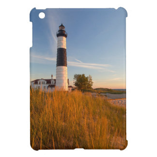 Big Sable Point Lighthouse On Lake Michigan 3 iPad Mini Covers