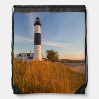 Big Sable Point Lighthouse On Lake Michigan 3 Backpack