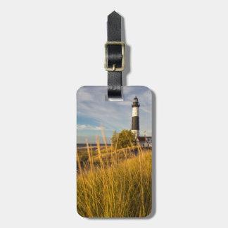 Big Sable Point Lighthouse On Lake Michigan Tags For Luggage