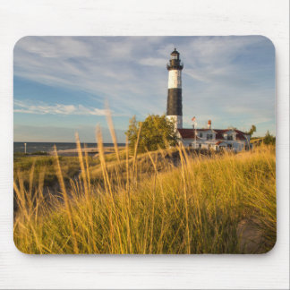 Big Sable Point Lighthouse On Lake Michigan Mouse Mat