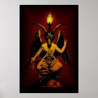 BIG Satanic Goat 24x36 Wall Art Poster