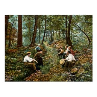 Big Savage Mountain Vintage Postcard