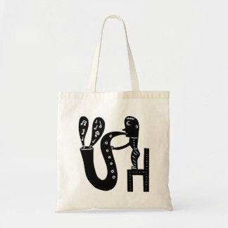 Big Saxophone Tote Bag