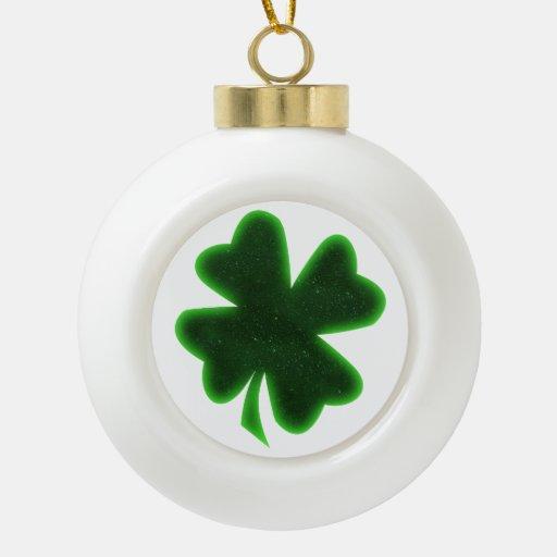 Big  Shamrock  for St Patrick's Day Ornament
