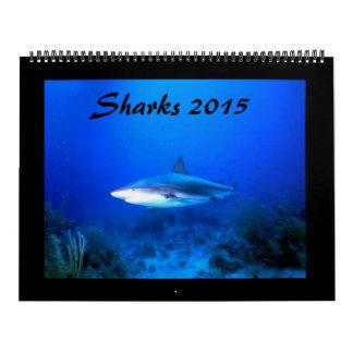 Big Sharks Calendar 2015