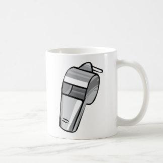 Big Silver Whistle Basic White Mug