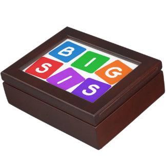 Big Sis custom keepsake box
