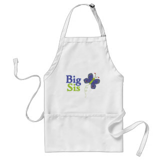 Big Sis Cute Butterfly 2 Aprons