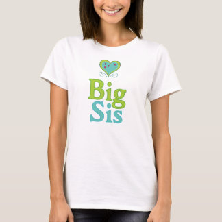Big Sis Cute Heart 2 T-Shirt