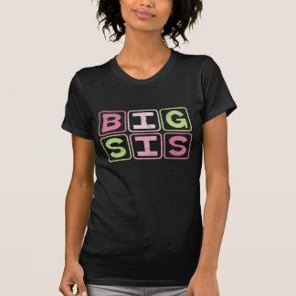 BIG SIS OUTLINE BLOCKS TEE SHIRT