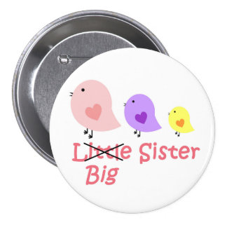 Big Sister 7.5 Cm Round Badge