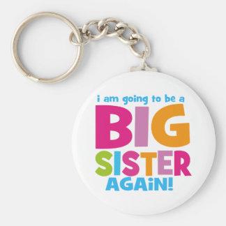 Big Sister Again Basic Round Button Key Ring