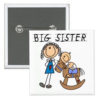 Big Sister Baby Brother T-shirts and Gifts Buttons
