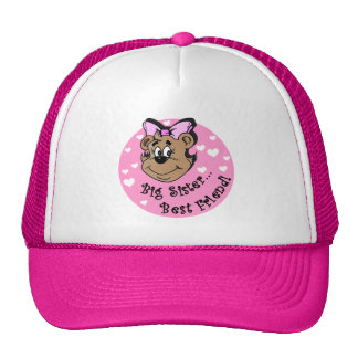 Big Sister Best Friend T shirts and Gifts Trucker Hat