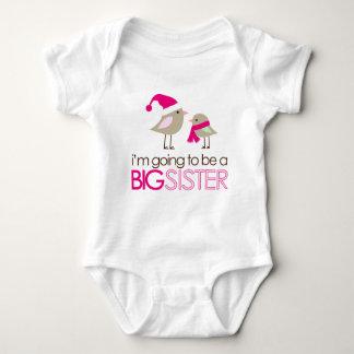 big sister birdies to be baby bodysuit