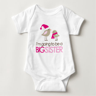 big sister birdies to be shirts