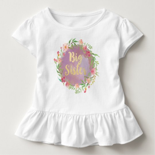 Big Sister Blouse Toddler T-Shirt