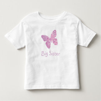 Big Sister Butterfly Toddler T-Shirt