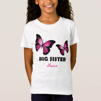 Big Sister Butterfly Tshirt