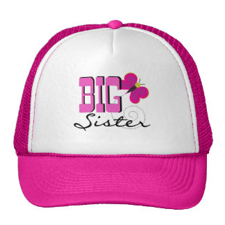 Big Sister Butterfly Tshirts and Gifts Cap