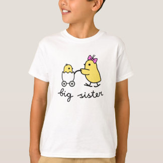 Big Sister Chick t-shirts