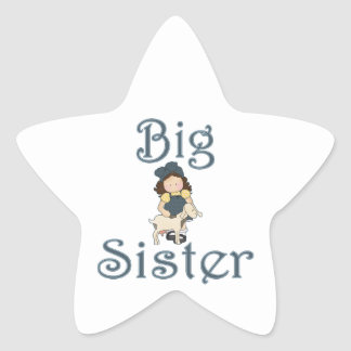 Big Sister Country Girl Goat Stickers