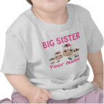 Big Sister Cow Personalized T-shirts