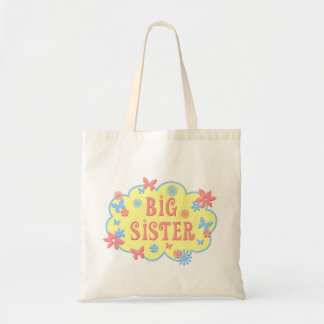 Big Sister Flower Butterfly Bag