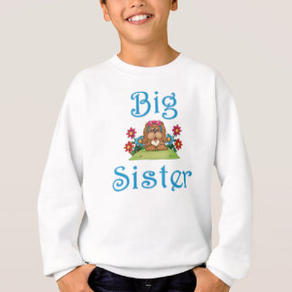 Big Sister Fluffy Pup 5 Sweatshirt