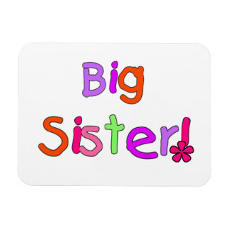 Big Sister Gifts Magnets