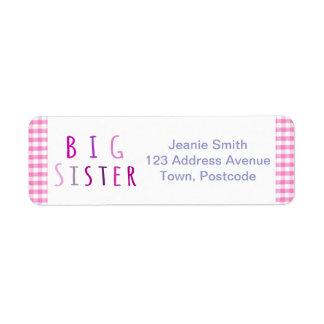 Big Sister in Pink