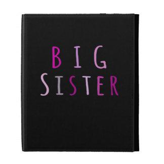 Big Sister in Pink iPad Case