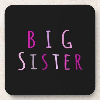 Big Sister in Pink Coaster