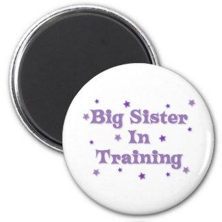 Big Sister In Training 6 Cm Round Magnet