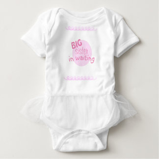 Big Sister In Waiting Baby Bodysuit