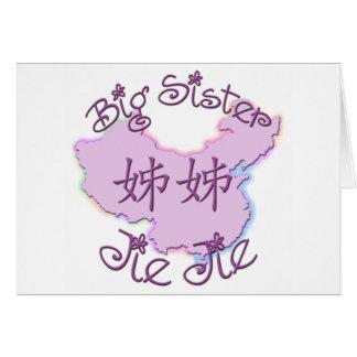 Big Sister Jie Jie (Chinese) Greeting Card