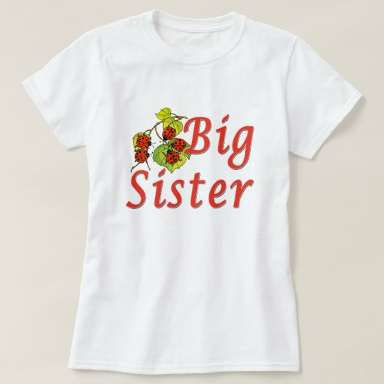 Big Sister Ladybugs T-Shirt