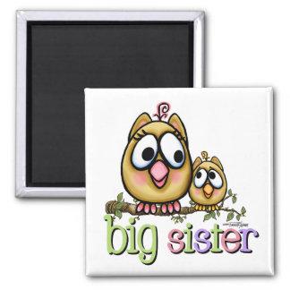 Big Sister - little Brother Fridge Magnets