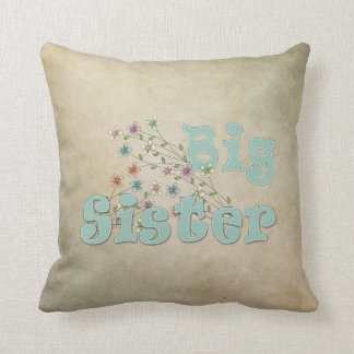 Big Sister Little Flowers Cushion
