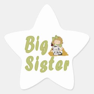 Big Sister Little Friends 6 Star Sticker