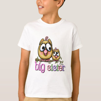 Big Sister Little Sister Owls T-shirts