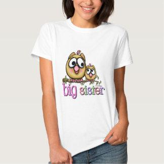 Big Sister Little Sister Owls Tee Shirt