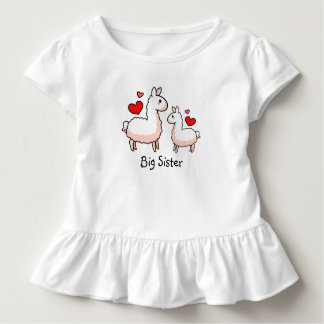 Big Sister Llama Toddler T-Shirt